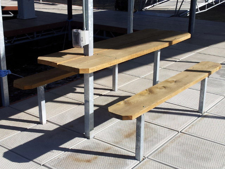 Dock Picnic Table