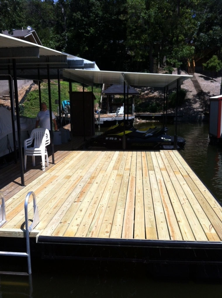 Swim dock and PWC slip