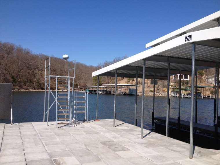 Diving Tower Platform