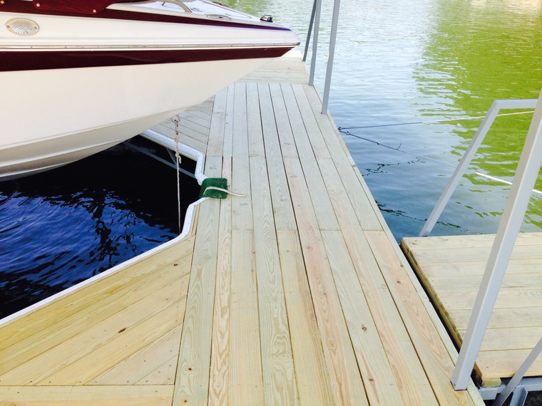 Dock Re-deck 31mm Osage