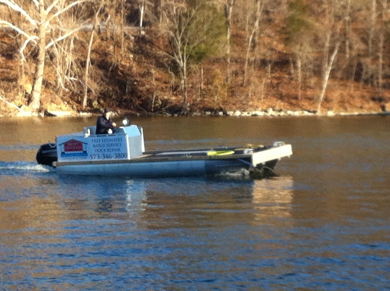 New Barge ready to go!
