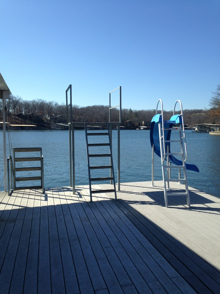 New dive tower, Gravois Mills