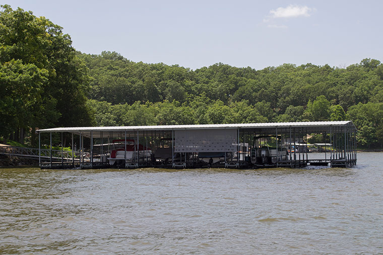 Commercial Docks, Lake of the Ozarks, Richs Dock Company