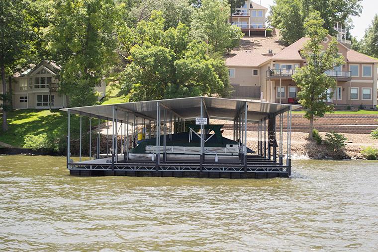 Residential Dock, Lake of the Ozarks, Richs Dock Company